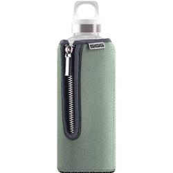 SIGG Trinkflasche Stella Glas mit Neopren 8739.10 Grau 500ml