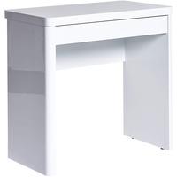 Jahnke Schreibtisch Cuuba Libre 80 weiß Hochglanz