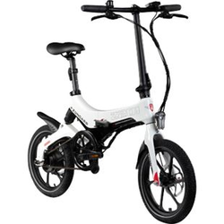 Zündapp Z201 16 Zoll Klapprad E-Bike Pedelec Faltrad Elektrofaltrad Elektrofahrrad StVZO... schwarz/weiß