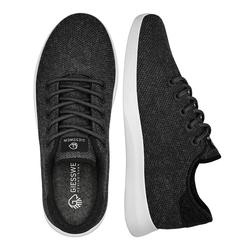 Giesswein Merino Wool Knit Men-Atmungsaktive Sneaker für Herren - anthrazit