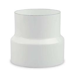Ofenrohr Reduzierung Ø 150 mm > Ø 130 mm emailliert Weiß
