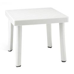 Nardi Rodi Beistelltisch 46x46 cm Kunststoff Weiß