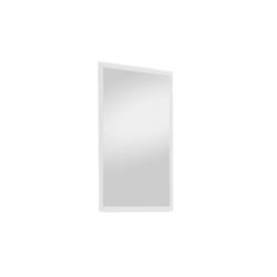 Wittenbreder Spiegel Roubaix in weiß, 60 x 100 cm