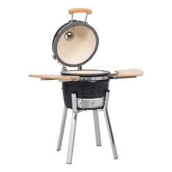 vidaXL Gasgrill Kamado Grill BBQ Smoker Keramik 81 cm