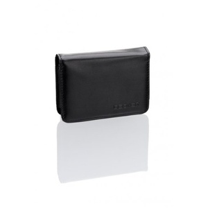 Becker Tasche schwarz Lederimitat für Becker 10,92cm 4,3Zoll