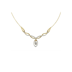 Diamonds by Ellen K. Collier 925/- Sterling Silber Diamant 0,06ct., Collier