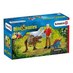 Schleich® Dinosaurs 41465 Tyrannosaurus Rex Angriff Set
