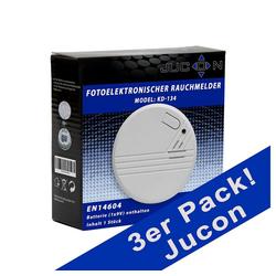 Jucon Rauchmelder Ø 10 cm x 3 cm