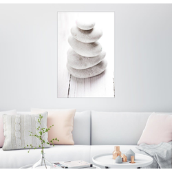 Posterlounge Wandbild, Hot Stone Massage 60 cm x 90 cm