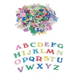 VBS Deko-Buchstaben Moosgummi Buchstaben, 200 Stück