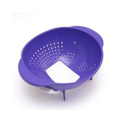 Lantelme Nudelsieb Nudelsieb mit Ausfallöffnung, Kunststoff, (1-St), Salatsieb, Obstsieb