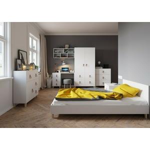Jugendzimmer FIGO Kinderzimmer Set Komplett Möbel Modern Design Schreibtisch