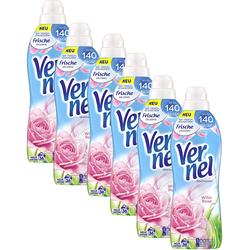Vernel Weichspülerkonzentrat 6er Pack Wild Rose 6x36 Waschladungen Weichspüler