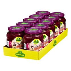 Kühne Rotkohl fix & fertig 355 g, 10er Pack