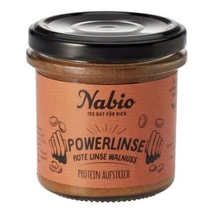 Nabio Powerlinse Aufstrich - Rote Linse + Walnuss bio