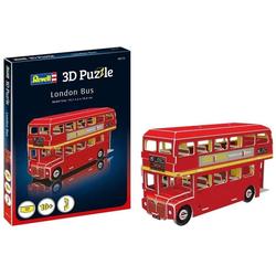 Revell® Steckpuzzle Revell 3D Puzzle: London Bus, 66 Puzzleteile