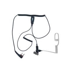 Icom Pro-29248 Schallschlauch-Ohrhörer-Mikrofon mit PTT