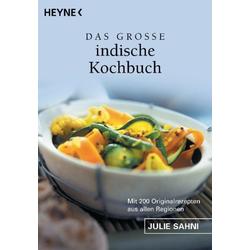 Das große indische Kochbuch als Taschenbuch von Julie Sahni