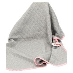 sigikid Babydecke Urban Baby Edition grau/rosa
