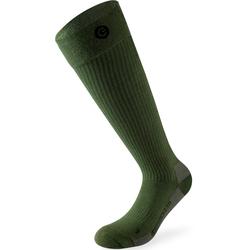 Lenz 4.0 Beheizbare Socken, grün, Größe 45 46 47