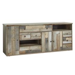 Sideboard Bonanza in Driftwood-Optik