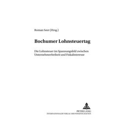 Bochumer Lohnsteuertag als Buch von