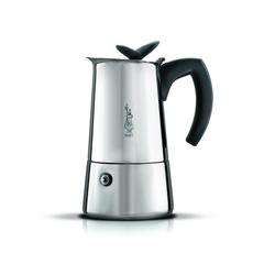 Bialetti Espressokocher Musa Satin 6 Tassen