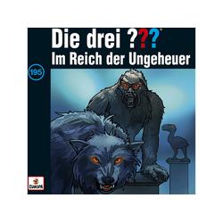 Die Drei ??? - drei 195 Im Reich der Ungeheuer (CD)