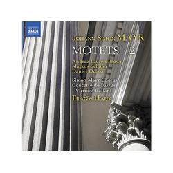 Brown/Schäfer/Hauk/Simon Mayr Chor - Motetten,Vol.2 (CD)