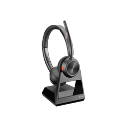Poly Savi 7220 Office - Headset-System - On-Ear - DECT - kabellos