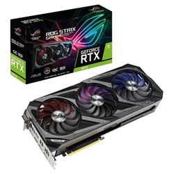 Asus ROG Strix GeForce RTX 3070 8GB OC Edition Gaming-Grafikkarte GDDR6 PCIe HDMI DisplayPort USB-C Grafikkarte (8 GB, GDDR6)
