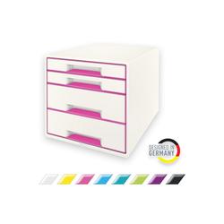 LEITZ Schubladenbox WOW, CUBE mit 4 Schubladen