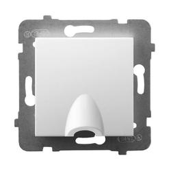 Kabelanschluss - Steckdose weiss Ospel Aria GPPK-1U/m/00