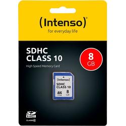 Intenso SDHC Class 10 Speicherkarte (Lesegeschwindigkeit 20 MB/s)