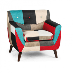 Patchwork sessel grand