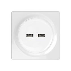 Fibaro Fibaro WALLI USB Outlet Smarte Steckdose