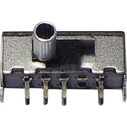 Schiebeschalter 50 V/DC 0.3A 2 x Ein/Ein/Ein