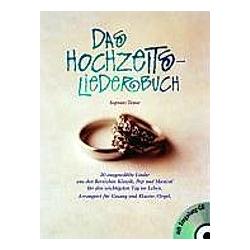 Hochzeitsliederbuch  Sopran/Tenor  m. 1 Audio-CD - Buch