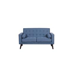 HTI-Line 2-Sitzer Zweisitzer Azaria, Sofa blau