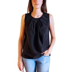 Posh Gear Seidenbluse Seidenbluse Gileseta Bluse aus 100% Seide 100% Seide schwarz XL