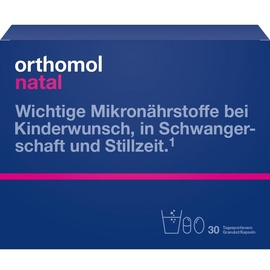 Orthomol Natal Granulat / Kapseln 30 St.