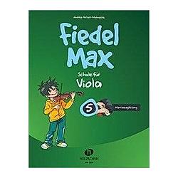 Fiedel-Max 5 Viola - Klavierbegleitung - Buch
