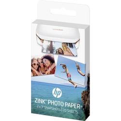 HP ZINK® PHOTO PAPER W4Z13A Fotodrucker Fotopapier 20 Blatt