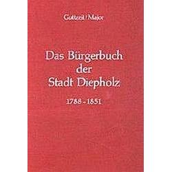 Das Bürgerbuch der Stadt Diepholz 1788-1851 - Buch