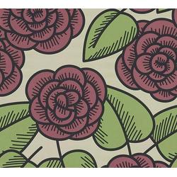 LARS CONTZEN Vliestapete Artist Edition No. 1 Fleur Côtiere grün
