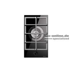 HCG30CK Gaskochfeld Glaskeramik 1 Flamme auch für Wok - 4 kW Domino