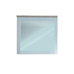 Bega First Look Dielenmöbel Spiegel Romance in weiß, 96 x 92 cm