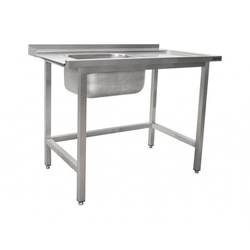 SARO Zulauftisch für Spülmaschine links 1 Becken