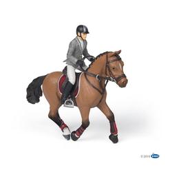 papo Spielfigur Wettkampf Pferd und Reiter