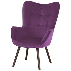 Playboy Sessel  Bridget ¦ lila/violett ¦ Maße (cm): B: 68 H: 99 T: 77 » Möbel Kraft